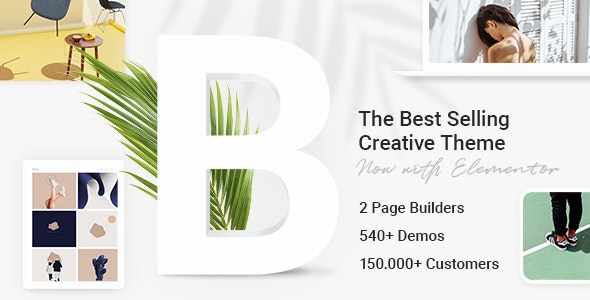 NULLED Bridge v25.6 - Creative Multi-Purpose WordPress Theme