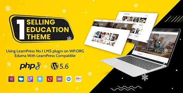 NULLED Eduma v4.3.6 - Education WordPress Theme