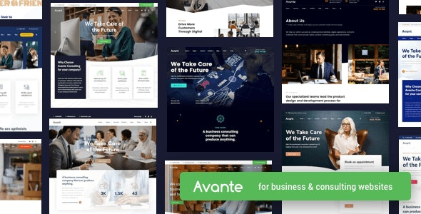 NULLED Avante v2.3.1 - Business Consulting WordPress