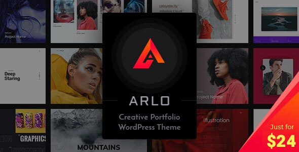 NULLED Arlo v3.6 - Portfolio WordPress Theme