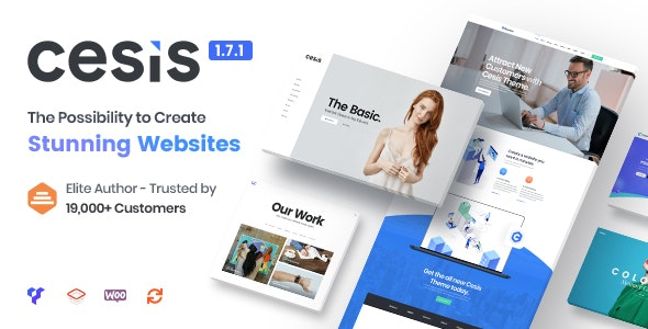 NULLED Cesis v1.8.7.20 - Responsive Multi-Purpose WordPress Theme