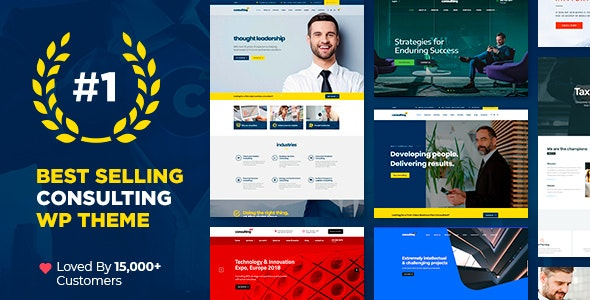 NULLED Consulting v6.1.1 - Business Finance WordPress Theme